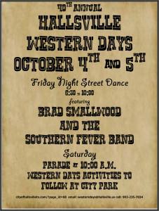 Western Day Flyer